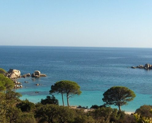 week end in barca a vela corsica nord