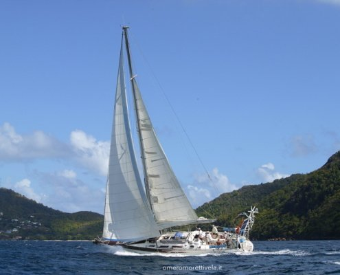 vacanze in barca a vela con skipper omero moretti freya