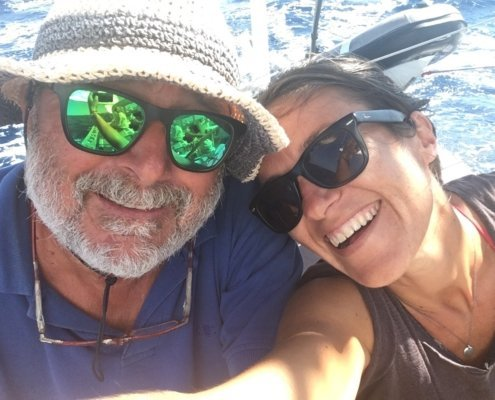 vacanze in barca a vela con skipper in Sardegna del nord skipper e hostess