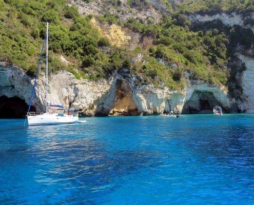 vacanze in barca a vela con skipper in grecia corfu