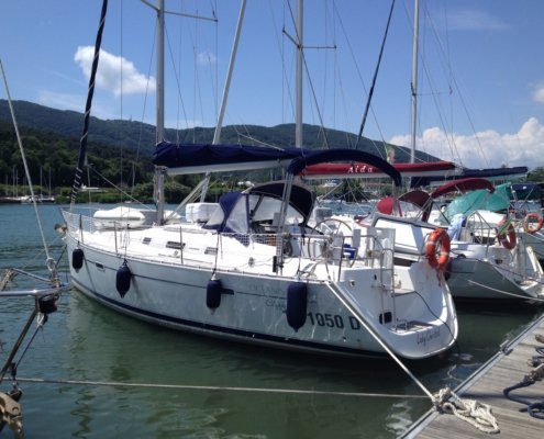 barche a noleggio senza skipper beneteau 343
