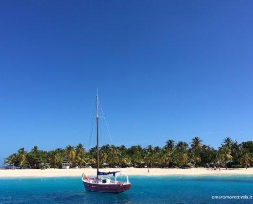 vacanze in barca a vela ai caraibi con skipper grandine palm island