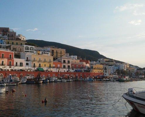 week end in barca a vela ponza