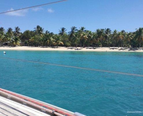 vacanze in barca a vela ai caraibi con skipper grenadine spiaggia mayereau