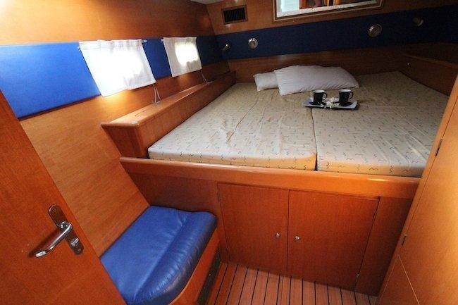 vacanze in catamarano cabine