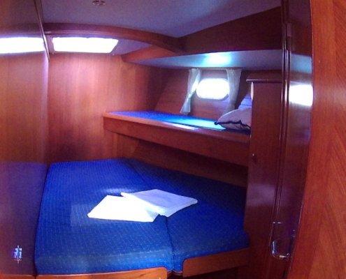 Sun Odyssey 52.2 cabina poppa