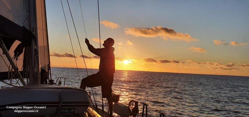 traversata atlantica in barca a vela manovre